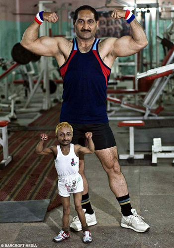 world's smallest bodybuilder