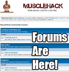 forums are here