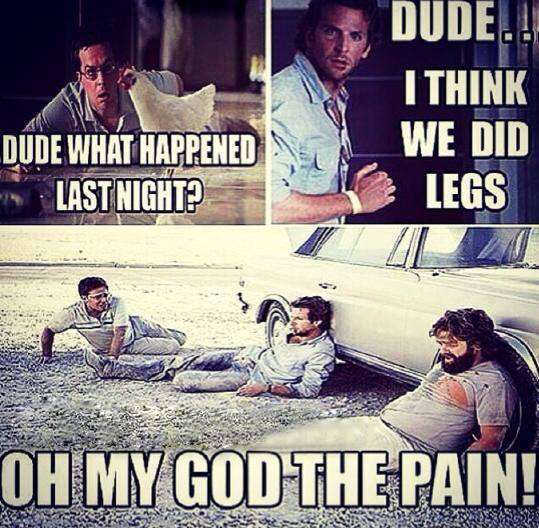 Funny After Workout Meme : After leg day funny quotes quotesgram