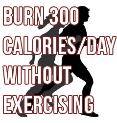 How to Burn an Extra 300 Calories a Day Without Lifting a Finger