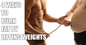 burn-fat-lifting-weights