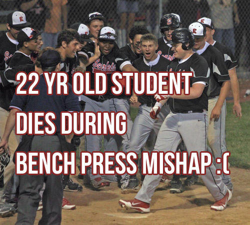 22yr Old Student Dies After Bench Press Mishap