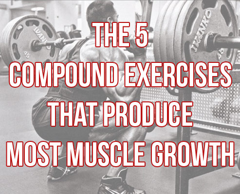 "The 5 ""Must-Do"" Compound Exercises For Big Gains"