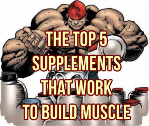 Top 5 Supplements For Gaining Muscle