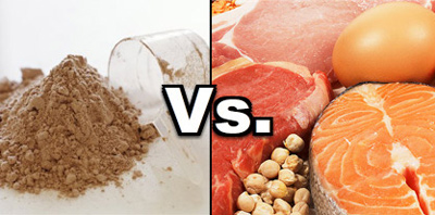 Is Real Food Protein or Protein Powder Better For Gains?