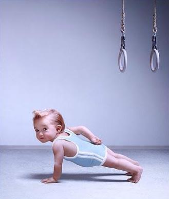 german baby myostatin