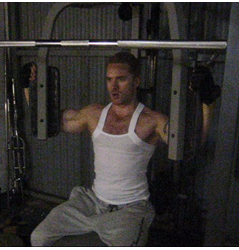 muscular pecs