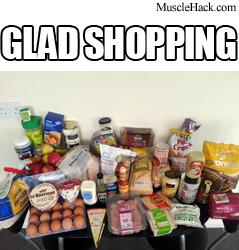 GLAD diet shoppig