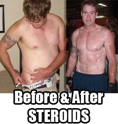 first steroid cycle before and after pictures