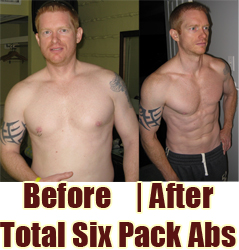 Stuart Before & After Total Six Pack Abs