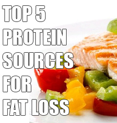 The Best Sources of Protein for Losing Fat