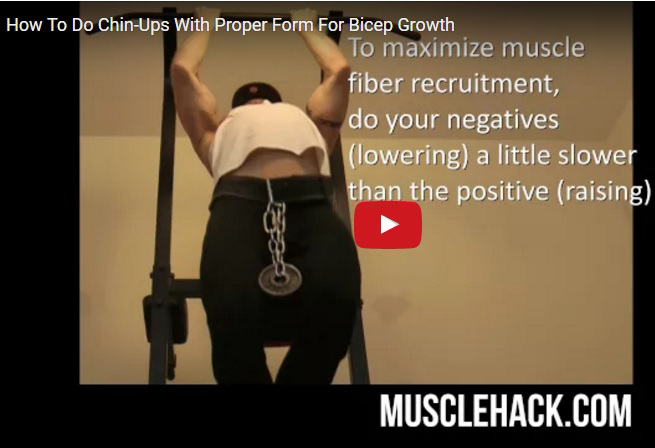 How To Do Chin-Ups Correctly (for biceps and lats)