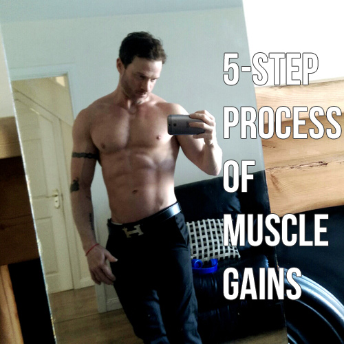 The 5 Step Secret of Muscle Gains