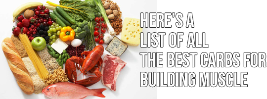 What Carbs To Eat To Build Muscle (59 items)