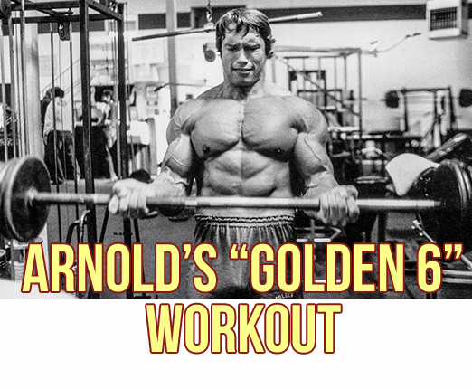 "Arnold's ""Golden 6"" 3-Day Full-Body Workout"