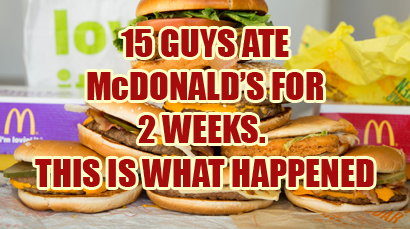 Eat Junk Food For 2 Weeks – This Is What Happens