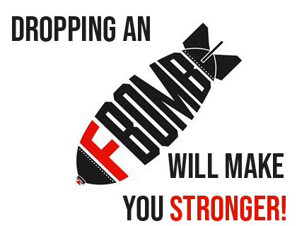 DROP AN F-BOMB IN THE GYM – IT MAKES YOU 8% STRONGER