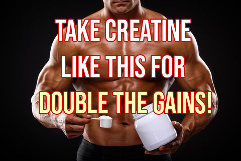 New Creatine Method Builds Twice The Muscle
