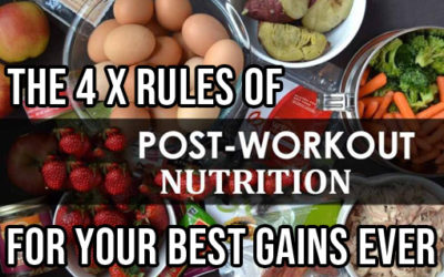 4 x POST-WORKOUT RULES FOR YOUR BEST GAINS