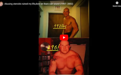 """Taking Steroids Ruined My Life"""