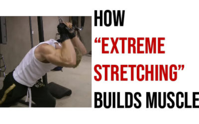 HOW TO BUILD MUSCLE BY STRETCHING
