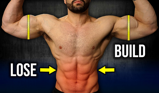 build muscle lose fat same time